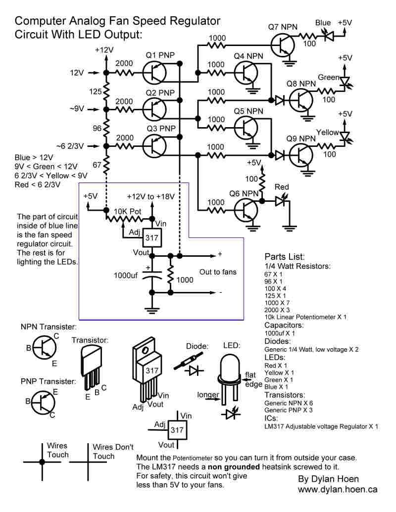 Dylan Hoens Homepage Electrical Engineer And Computer Programmer Speed Control Wiring Diagram I Will Start With The Schematic Then Later Add Parts Layout A Text Explanation Of How To Build Circuit It